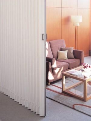 アコーディオンカーテンメイト施工写真